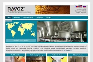 Webové stránky – Ravoz spol. s r.o.